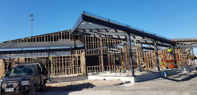 Foster-basketball-building-construction